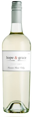 2018 hope & grace Pinot Gris, Russian River Valley