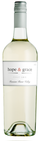 2017 hope & grace Pinot Gris, Russian River Valley