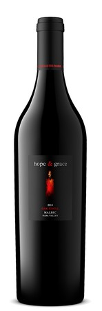 2016 hope & grace Malbec, Oak Knoll, Napa Valley