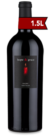 2012 hope & grace Malbec, Oak Knoll District 1.5L
