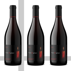 Pinot Noir Vertical, Santa Lucia Highlands, 3 bottle
