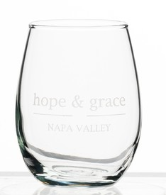 hope & grace Glass Tumbler